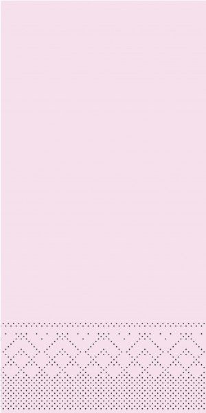 Tissue Serviette Rosa, 40 x 40 cm, 1/8 Falz, 100 Stück - Mank