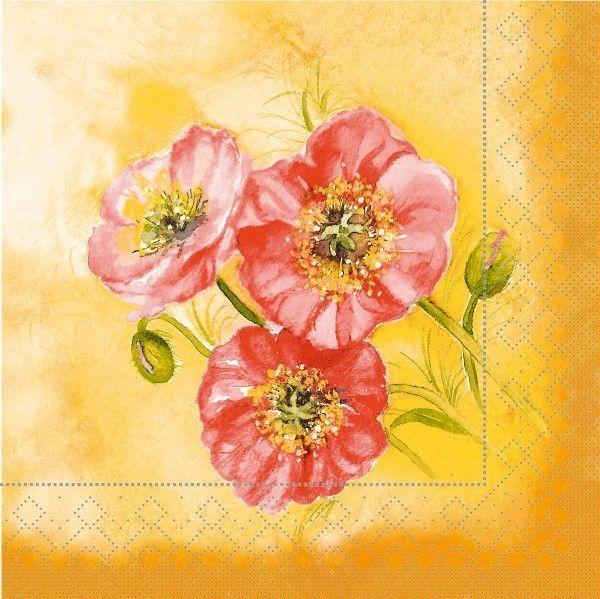 Tissue Serviette Romy, 33 x 33 cm, 100 Stück - Mank