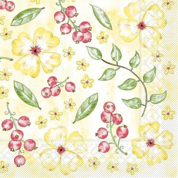 Tissue Serviette Janne, 33 x 33 cm, 100 Stück