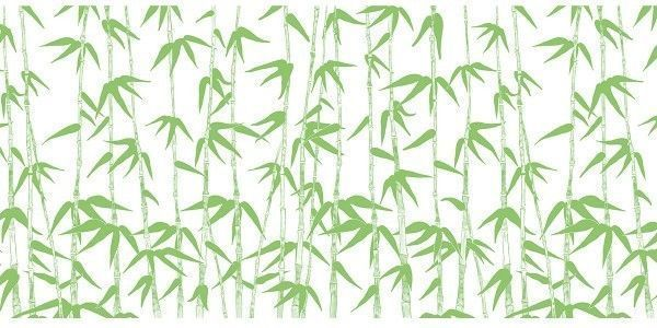 Airlaid Tischläufer Green Bamboo, 40 cm x 24 m, 1 Stück - Mank