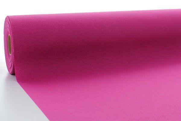 Airlaid Tischdeckenrolle Violett, 120 cm x 40 m , 1 Stück - Mank