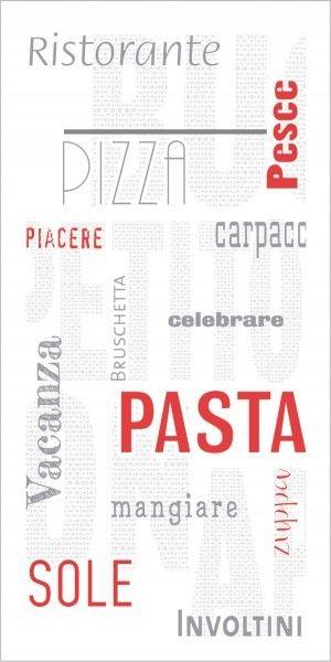 Airlaid Besteckservietten Pasta, 40 x 40 cm, 75 Stück - Mank