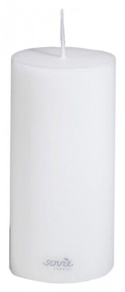 Stumpenkerze Weiß, Ø70x150 mm