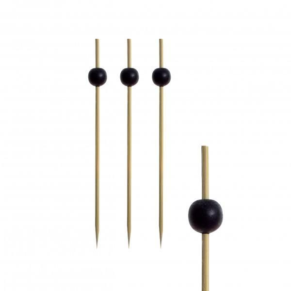 Fingerfood - Spieße 12,5 cm Black Pearl - Papstar