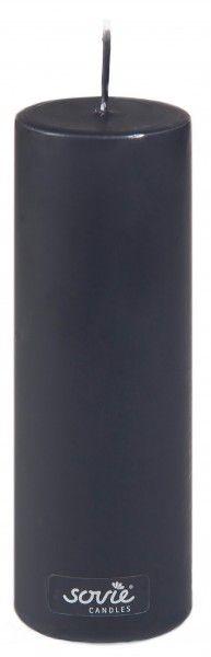 Stumpenkerze Schwarz, Ø50x150 mm