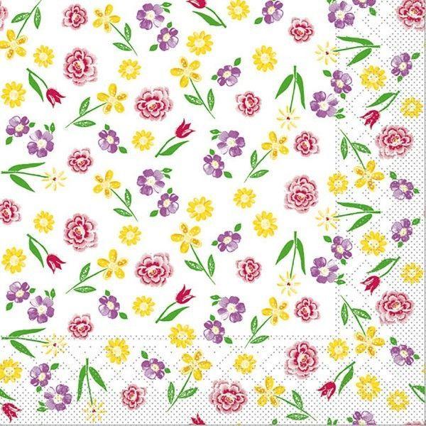 Tissue Serviette Klara, 40 x 40 cm, 100 Stück - Mank