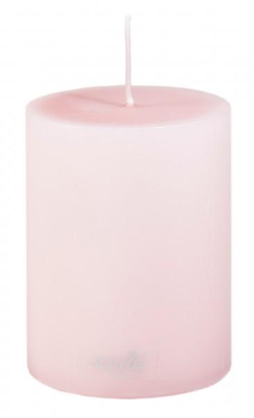 Stumpenkerze Rosa, Ø70x100 mm