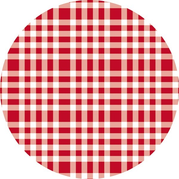 Paper Caps Steve in Rot aus Mattkarton, Ø 80mm, 200 Stück - Mank