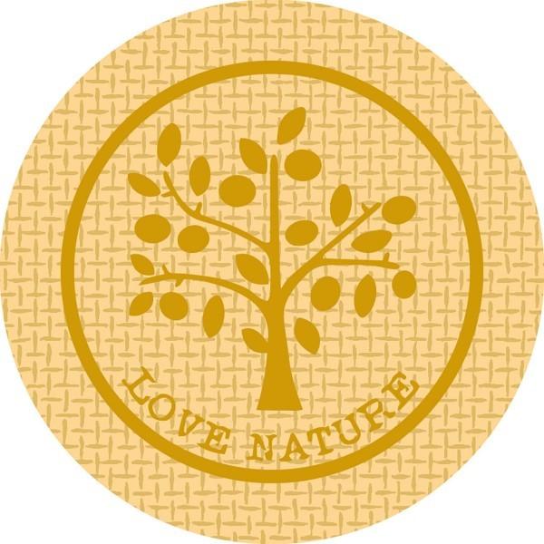 Paper Cap Love Nature Jute in Braun aus Mattkarton, Ø 74mm, 200 Stück - Mank