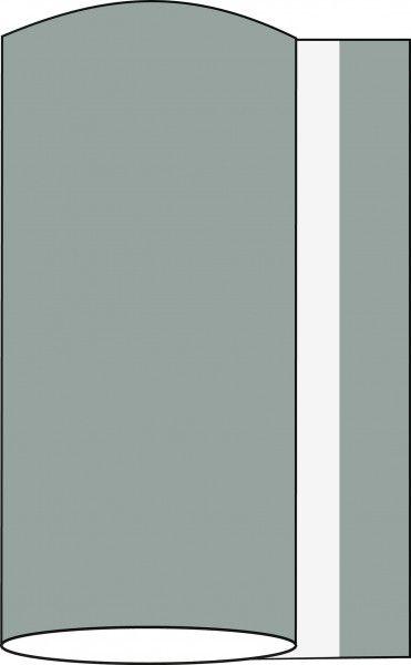 Airlaid Tischband Grau, 20 cm x 20 m , 1 Stück - Mank