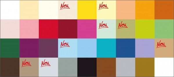 Farb- und Qualitätsmuster, Linclass Airlaid