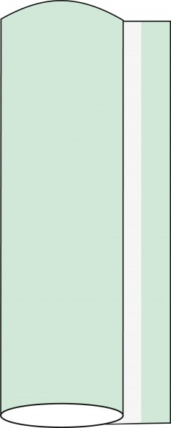 Airlaid Tischdeckenrolle Pistazie, 120 cm x 40 m, 1 Stück - Mank