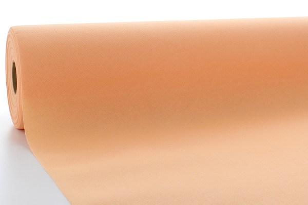 Airlaid Tischdeckenrolle Aprikot, 120 cm x 40 m , 1 Stück - Mank