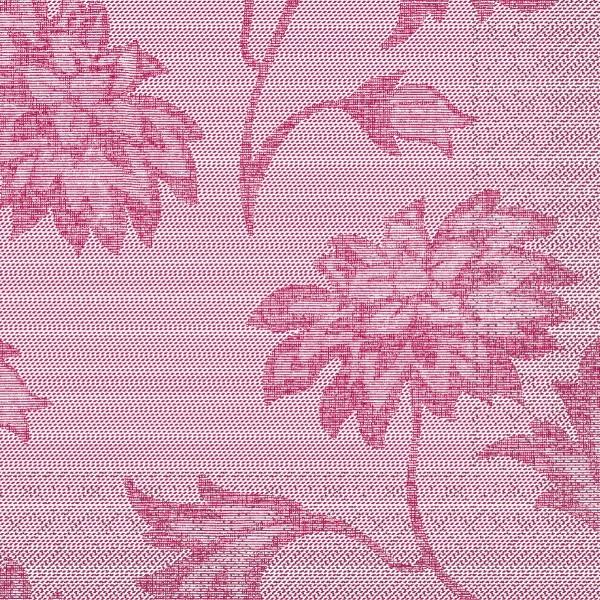 Tissue Serviette Lisboa in Bordeaux, 33 x 33 cm, 100 Stück - Mank