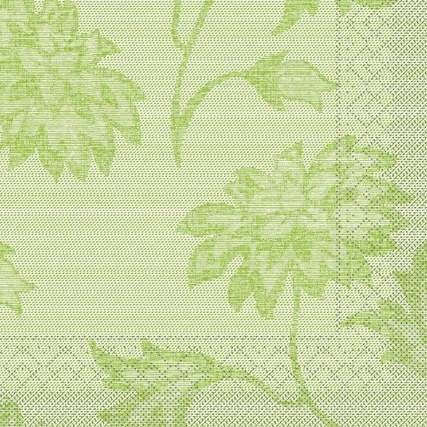 Tissue Serviette Lisboa in Schilfgrün 40 x 40 cm, 100 Stück - Mank