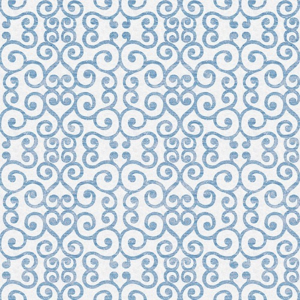 Spanlin Tischdecke Nova in Blau-Grau, 100 x 100 cm, 20 Stück - Mank