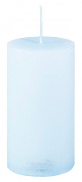 Stumpenkerze Hellblau, Ø50x100 mm