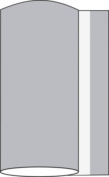 Airlaid Tischband Silber 20 cm x 20 m , 1 Stück - Mank