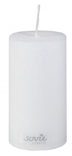 Stumpenkerze Weiß, Ø50x100 mm