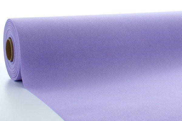 Airlaid Tischdeckenrolle Lila, 80 cm x 40 m , 1 Stück - Mank