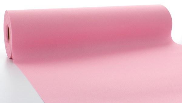 Airlaid Tischläufer Rosa, 40 cm x 24 m , 1 Stück - Mank