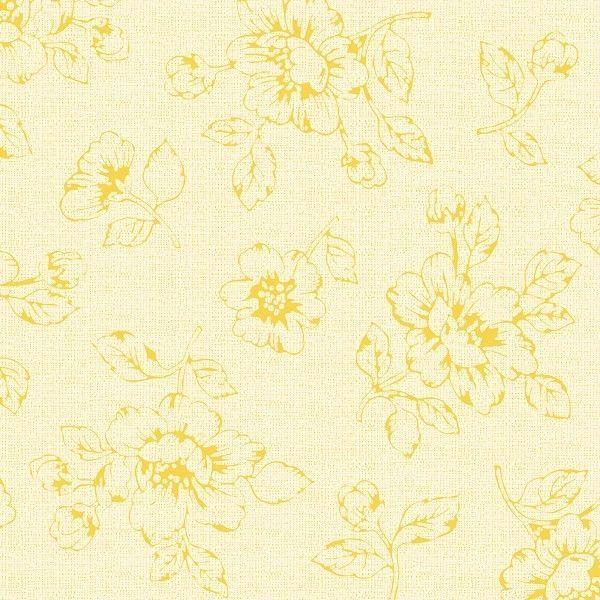Spanlin-Bio Serviette Rita in Creme Gelb, 40 x 40 cm, 30 Stück - Mank