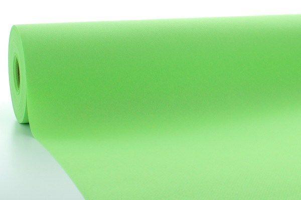 Airlaid Tischdeckenrolle Apfelgrün, 80 cm x 40 m , 1 Stück - Mank