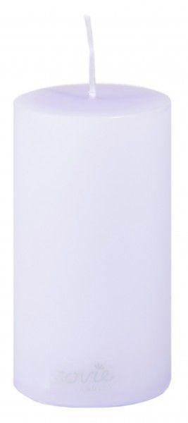 Stumpenkerze Lila, Ø50x100 mm