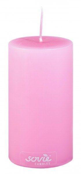 Stumpenkerze Violett, Ø50x100 mm