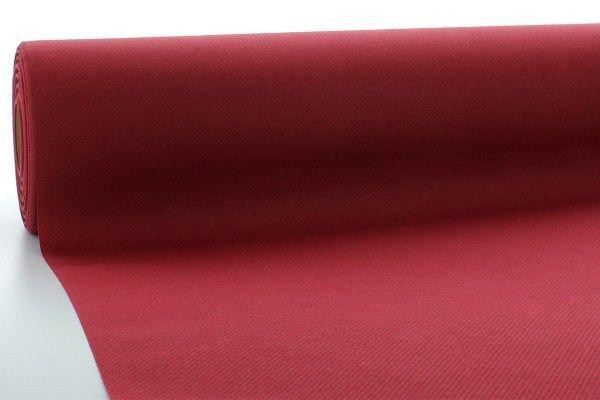 Airlaid Tischdeckenrolle Bordeaux, 120 cm x 40 m , 1 Stück - Mank