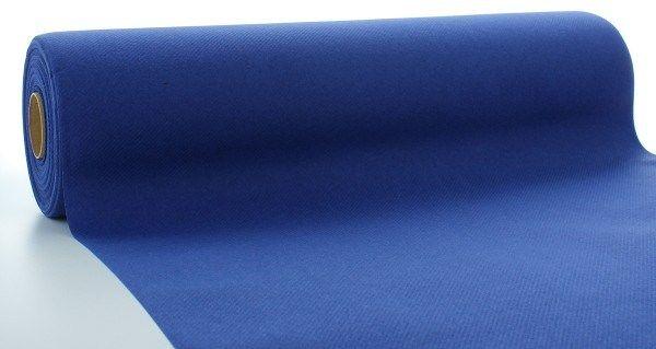 Airlaid Tischläufer Royalblau, 40 cm x 24 m , 1 Stück - Mank