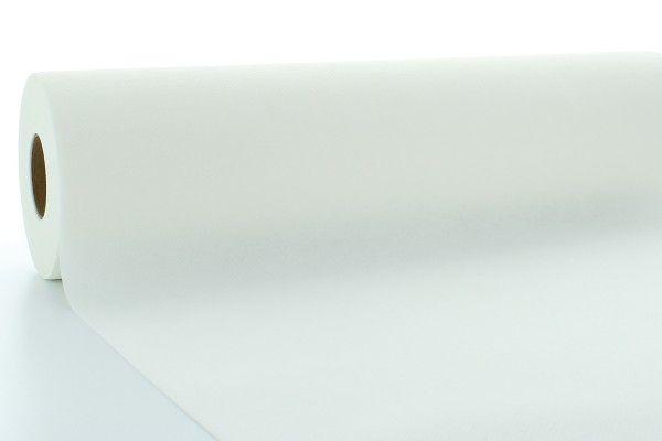Airlaid Tischdeckenrolle Weiß, 120 cm x 40 m , 1 Stück - Mank