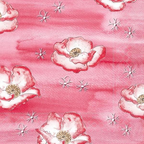 Tissue Serviette Moni, 40 x 40 cm, 100 Stück - Mank