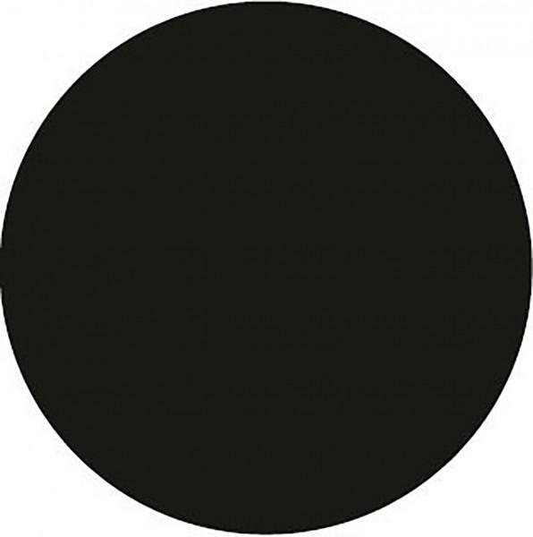 Paper Caps in Schwarz aus Mattkarton, Ø 72mm, 200 Stück - Mank