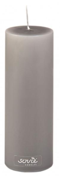 Stumpenkerze Braun, Ø50x150 mm