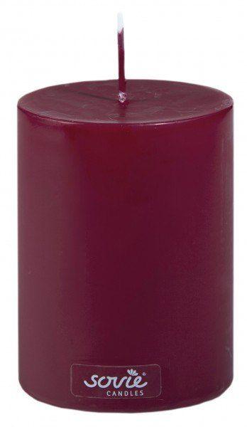Stumpenkerze Bordeaux, Ø70x100 mm