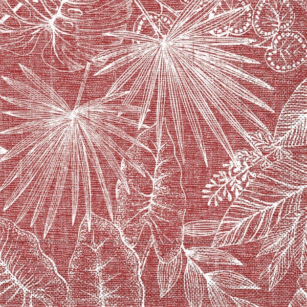 Tissue Serviette Kona in Bordeaux, 33 x 33 cm, 100 Stück