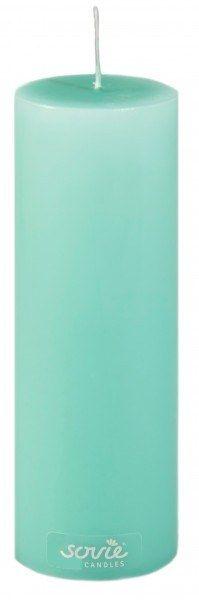 Stumpenkerze Jadegrün, Ø50x150 mm